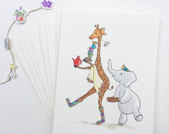 Set of 12 Cards of Your Choice