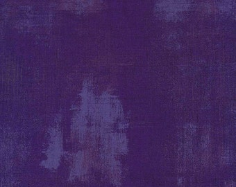 Basicgrey - Grunge for Moda - Purple - 295 - 1/2 Yard Cotton Quilt Fabric 217