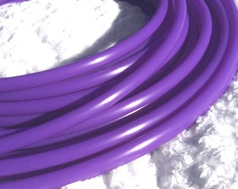 """UV Lilac Purple 1/2"""" Polypro Dance & Exercise Hula Hoop COLLAPSIBLE push button or minis - blacklight neon wisteria orchid"""