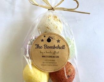 Bath Bomb Gift Bag: The Bombshell  Bag o' Bombs