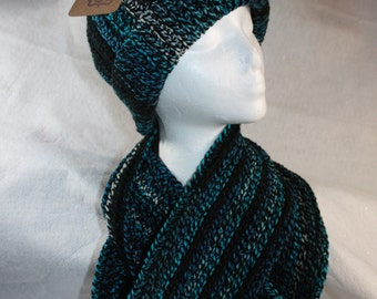Hat and Double infinity Cowl Set w/Free Shipping
