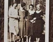 Original Antique Photograph Ladies Collab