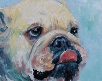 Pet Portait - original watercolor painting of your pet