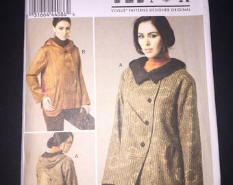 Vogue Sewing Pattern 8752 Misses Jacket by Marcy Tilton Size 14-22