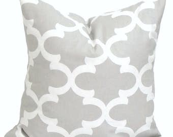 PILLOWS, Decorative Pillow, 14x14 inch Throw Pillow, Accent Pillow,  Couch Pillow, Gray, French Country. Farmhouse, Taupe Grey, Cushion,