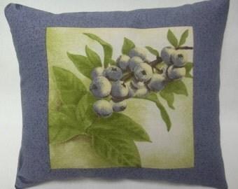 Blueberry Mini Pillow Shelf Pillow