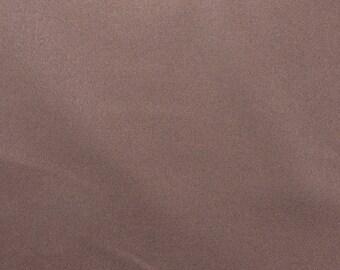 Dark Brown Wool Fabric by the Yard, Wool Suiting Fabric, Wool Gabardine, Solid Brown Fabric, Wide Fabric Yardage - 1 Yard - WSF2084