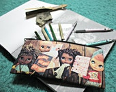Blythe Custom Full Color Printed 2 Sided Pencil Case Womans March 2017 Tribute