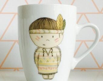 Boho Coffee / Tea  Mug