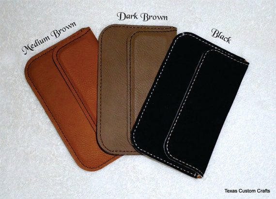 Personalized Business Card Case Leatherette Business Card