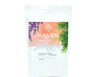 HAVEN Laundry Suds - Pine, Lavender & Cedar - 80 LOADS