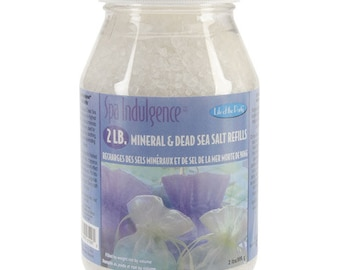 Spa indulgence Mineral and Dead Sea Salt Refill - 2 lb