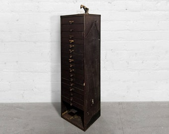 Germanow & Simon Multi-Drawer Storage Cabinet, circa 1940