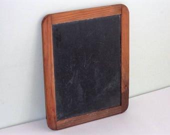 Small Vintage Slate Board Chalkboard Child's Size