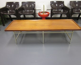 Paul McCobb Wood Top Coffee Table