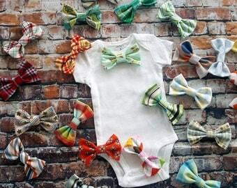 Baby Boy Bow Tie Bodysuit.  Baby Shower Gift, Cake Smash, Baby Tie Shirt, Birthday boy.