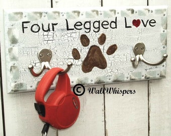 Pet Dog Leash Hook Personalized Doggie Gift Dog Lover Gift Leash Hanger Dogs Name Sign Pet Name Sign MTO Pet Sign Kennel Sign Puppy Gift