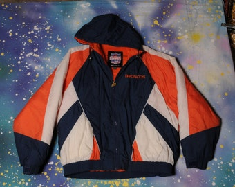 Denver BRONCOS Game Day Starter Style Jacket Size XXL