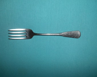 """One (1), 6 3/4"""", Stainless, Salad Fork, from SSS/Oneida, in the Colonial Boston Glossy Pattern."""