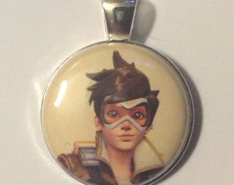 Overwatch  interchangeable face Bracelet or necklace