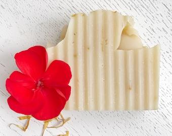 Geranium Marigold Handmade Soap - natural soap - soap