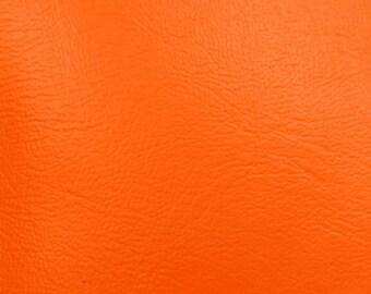 Marine Vinyl Waterproof Orange 54 Inch Fabric by the Yard - 1 Yard