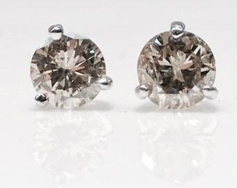 Diamond Studs in 14K