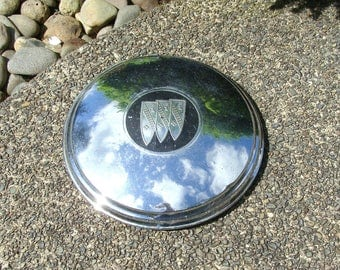 """1959 to 1964 Buick GM Dog Dish Hubcap Measuring 11"""" Across, #1 of 3"""