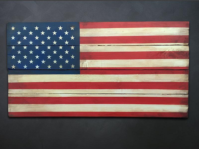U s flag wood wall art patriotic us american flag wall American flag wood wall art