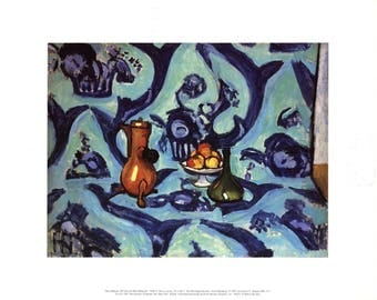 Henri Matisse-Still Life with Blue Tablecloth-1994 Poster