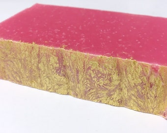 Pink Amber & Vanilla Handmade Cold Process Body Soap