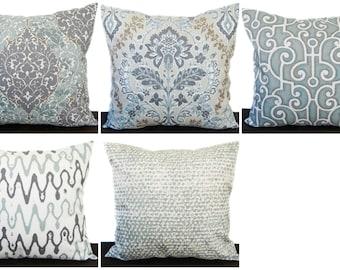 Pillow, Throw Pillow, Pillow Cover, Cushion, Decorative Pillow, purple plum gray tan white Amethyst