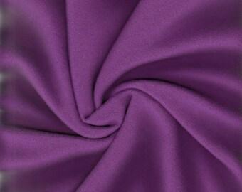2.25 Yards Camira Wool Upholstery Fabric Mid Century Blazer in Eastbourne Purple (NU)