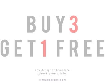 Buy 3 and Get 1 Free Special Offer