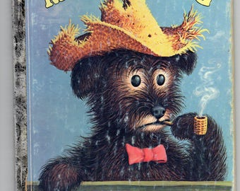 """Vintage Little Golden Book """"Mister Dog"""" 1952 """"J"""" Print (10th) 1st Ed The Dog Who Belonged to Himself Cute Story of  Lived By Himself Cute"""
