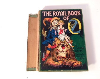 The Royal Book of Oz, L Frank Baum, 1920