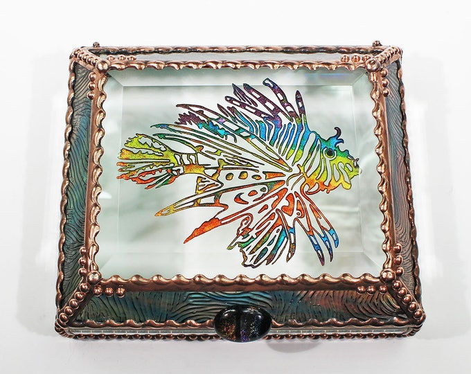 Lionfish, Ocean, Sealife  - Treasure Box