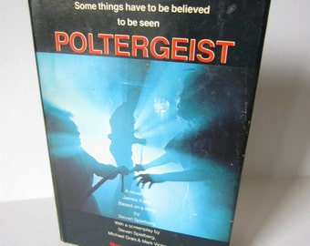 Poltergeist by  James Kahn 1982 Vintage Book