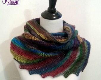 Skylark Scarf - Crochet Scarf PATTERN PDF ONLY