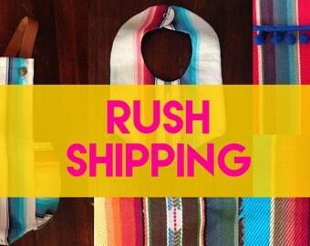 Rush My Order Please!