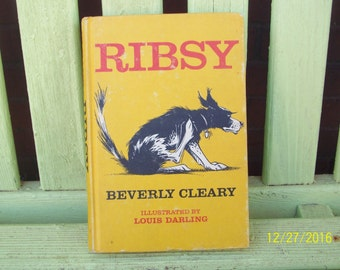 Ribsy by Beverly Cleary, illustrated by Louis Darling,  1964 Weekly Reader Edition