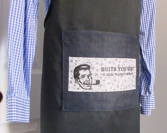 Men's Apron Suits You Sir! SYS02
