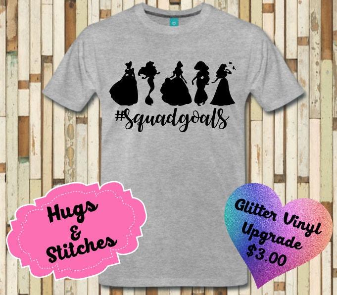 Disney Princess Squad Goal Shirt