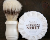 Guinness Stout Shaving Soap - Handmade in Alaska, Goat's Milk Soap, Men's Soap, Gifts for Him, Gifts for Husband, Sensitive Skin