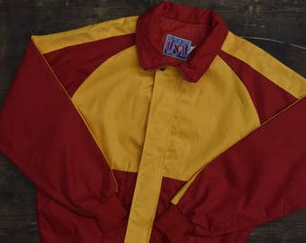 1980s Mens Zip up Jacket