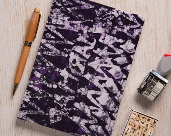 NEW 2017-2018 A5 academic midyear planner diary calendar agenda weekly Unique Bespoke Customised hardback cover traditional African batik