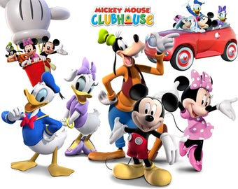 Mickey mouse clubhouse clipart – Etsy