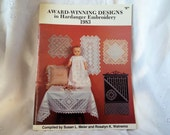 Award-Winning Designs in Hardanger Embroidery 1983