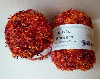 Sale Oranges and Cherries 433 Little Flowers by Crystal Palace Yarns