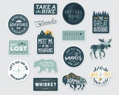 Adventure Stickers - Extended Collection